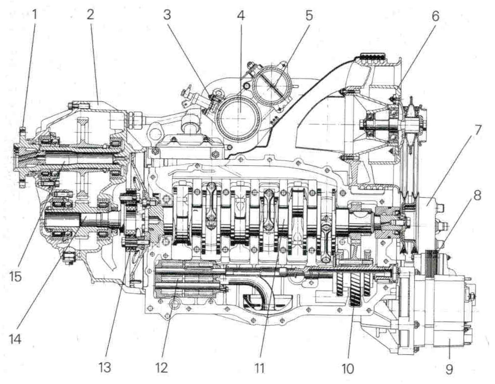 PFM 3200 Engine
